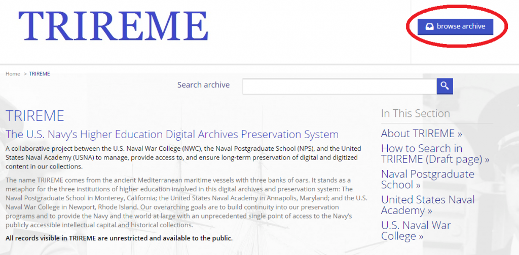 Search_Tips_Browse Page_Browse Archives