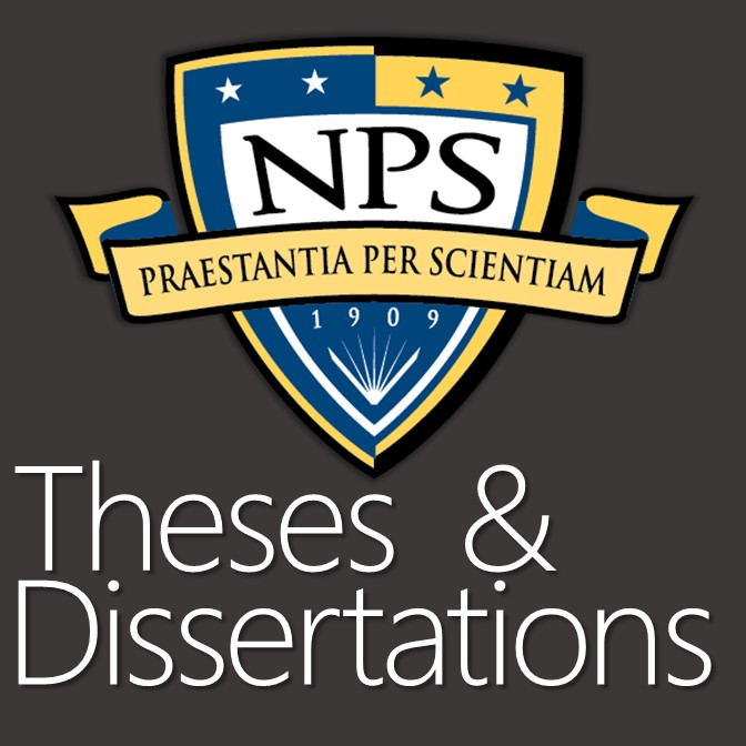 Naval Postgraduate School Masters' Theses and Dissertations 2014-2016